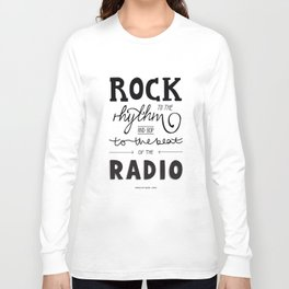 Kings of Leon hand-lettered print Long Sleeve T-shirt