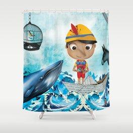 PINOCHO Shower Curtain