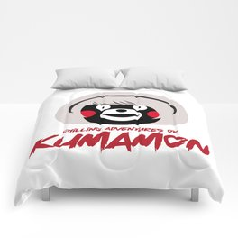 Chilling Adventures of Kumamon Comforters