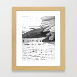 The Undeserved Favour of God Framed Art Print