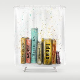 Books of Life Shower Curtain