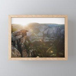 natural flares  Framed Mini Art Print