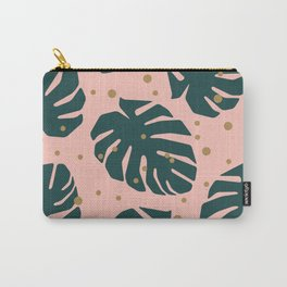 Tropics Green Carry-All Pouch
