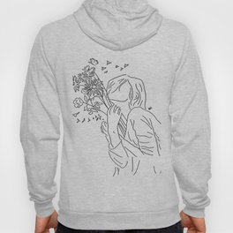 allow yourself to bloom again Hoody