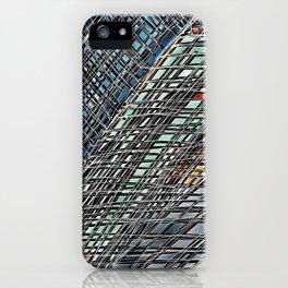 Sideways Broadway Boogie iPhone Case
