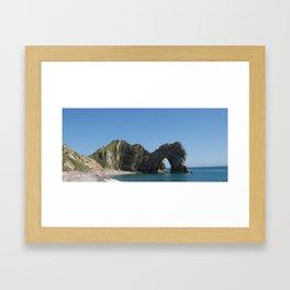 Durdle Door, Dorset, Photo 6b Framed Art Print