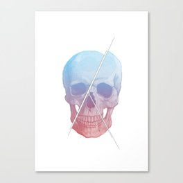 Trinity Skull Canvas Print