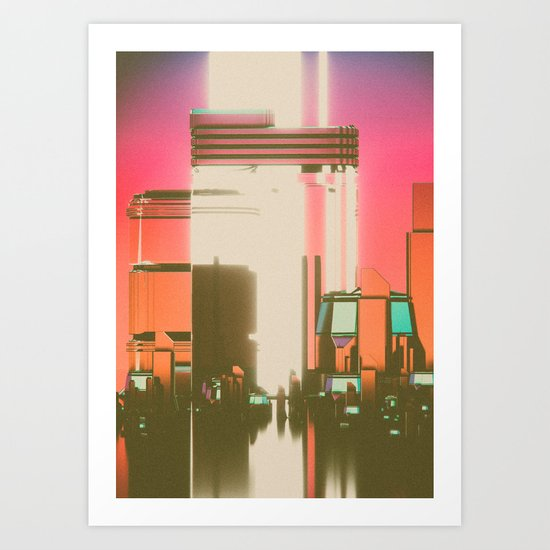 DEVOLVE (everyday 09.09.16) Art Print