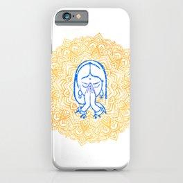 Namaste | Wisdom Flower Mandala iPhone Case