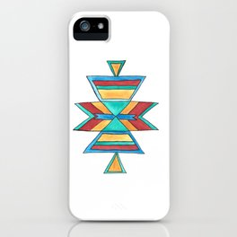 Colorful Tribal Design iPhone Case