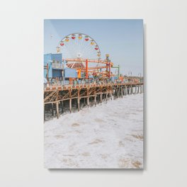 santa monica iii / california Metal Print