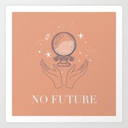 Not so bright future Art Print