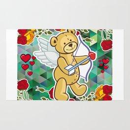 Cupid Bear Rug
