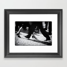 Tango Feet 2 Framed Art Print