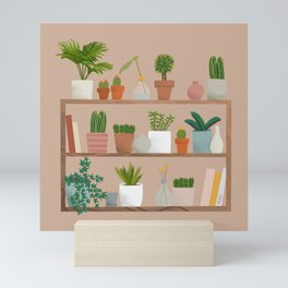 Plant Mama Shelfie Mini Art Print