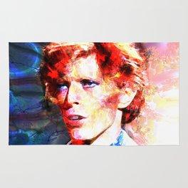 David (A Fractal Portrait) Rug