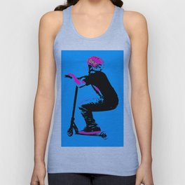 Scooter Cruiser - Scooter Boy Unisex Tank Top