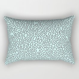 Abstract Drawing 037 Rectangular Pillow