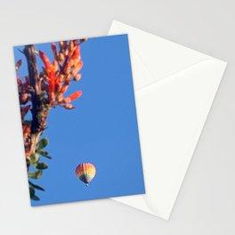 Rainbow Hot Air Balloon : Albuquerque New Mexico Stationery Cards