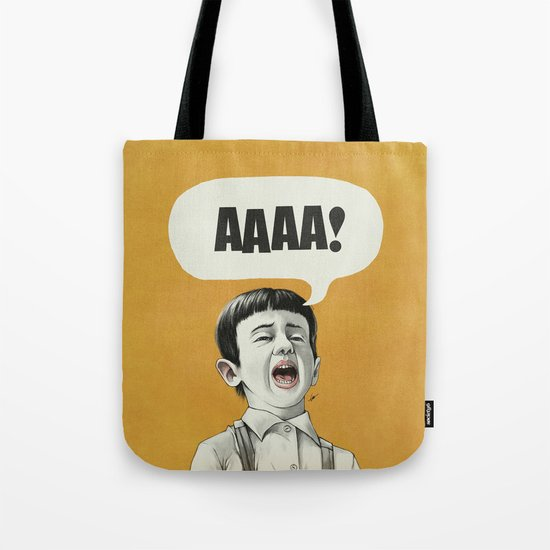AAAA! (Golden) Tote Bag