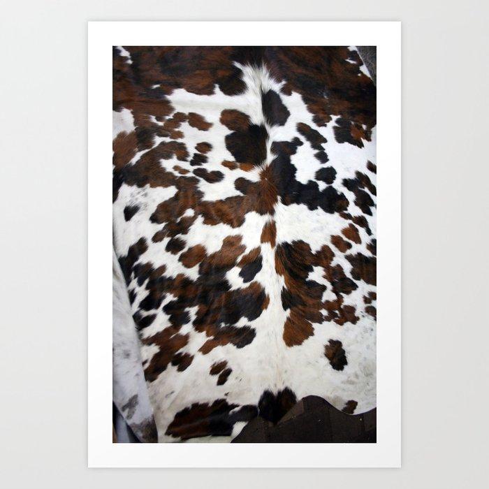 Cowhide Kunstdrucke