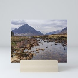 Glencoe the Scottish mountains Mini Art Print