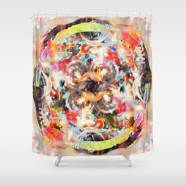 Gearing Shower Curtain