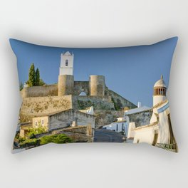 Monsaraz in the Alentejo, Portugal Rectangular Pillow