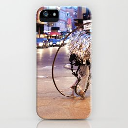 Performance Art on the Streets of Bucktown, Chicago 03 iPhone Case