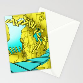 AUTOMATIC WORM 1 Stationery Cards