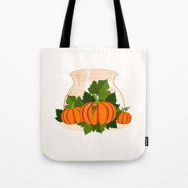 C13D Its Pumpkin Time Tote Bag