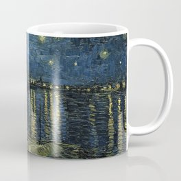 Vincent Van Gogh - Starry Night Over the Rhone Coffee Mug