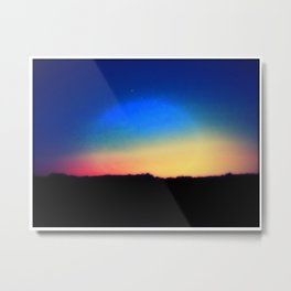 Color Me Rainbow Metal Print