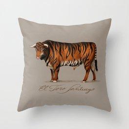 Toro Santiago Throw Pillow