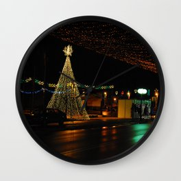 Bor at new years eve  Wall Clock