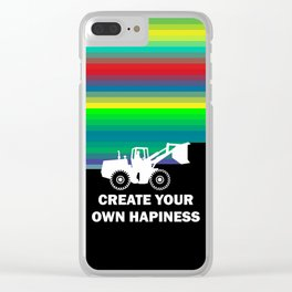 CREATE YOUR OWN HAPINESS Clear iPhone Case