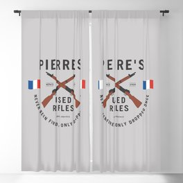 Pierre's Used Rifles Blackout Curtain