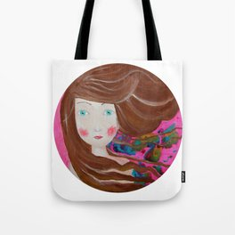 Inky Windy Tote Bag