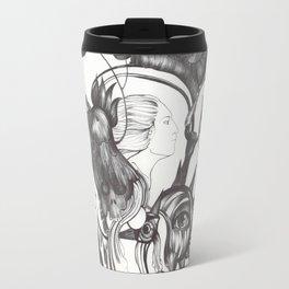Retrato de Sirena Travel Mug