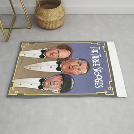 The Three Stooges Rug