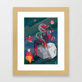Deathray Fae Framed Art Print
