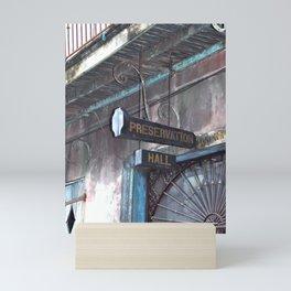A Music Haven: Preservation Hall Mini Art Print