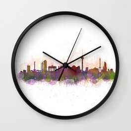 Berlin City Skyline HQ1 Wall Clock