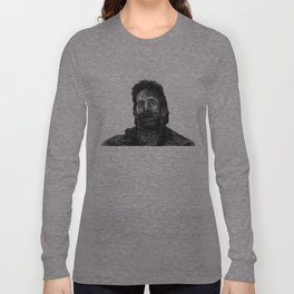 glass chin Long Sleeve T-shirt