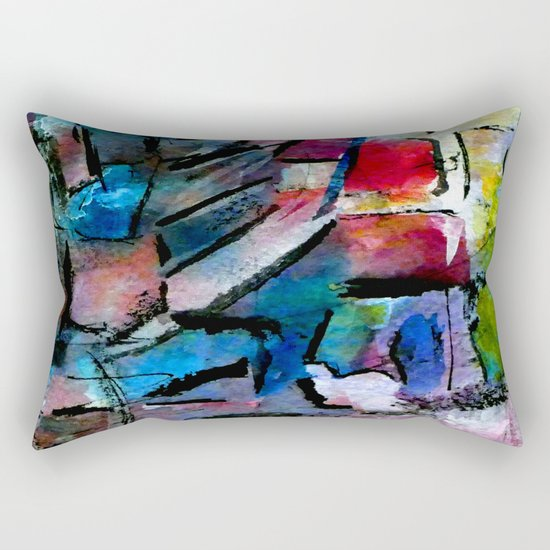 culture landscape Rectangular Pillow