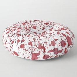 Blood Spatter Floor Pillow