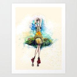 La Paris Art Print
