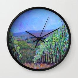 Hillsides of Tuscany Wall Clock