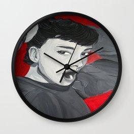 Audrey's yawn Wall Clock