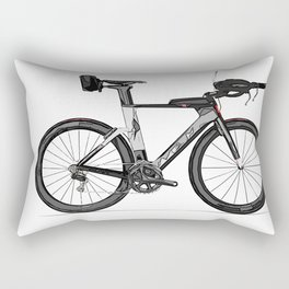 T.T. Bike Rectangular Pillow